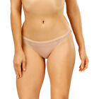 Emerson Women's Micro and Lace G-String - Nude