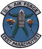 Test Parachutist United States Air Force USAF Embroidered Patch