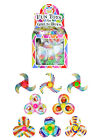 MINI SPINNING TOPS PARTY BAG FILLERS FAVOURS POCKET MONEY TOYS