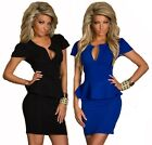 I-CURVES women's formal office business body con all in one pencil dress