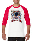 Gildan Raglan T-shirt 3/4 Sleeve Hockey Play To Win