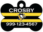 Pittsburgh Penguins Custom Pet Id Dog Tag Personalized w/ Name & Number $11.67 USD on eBay
