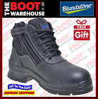 Blundstone 419 Black Non Steel Toe - Soft Toe - Work Boots, Zip Side / Lace-up.