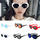 real glass sunglasses - Unisex Clout Goggles Sunglasses Rapper Cool Oval Shades Grunge Glasses Retro