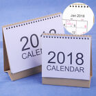 New 2018 Desk-Top Flip Calendar Month To View Stand Up Office Home Table Planner