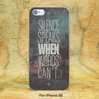 when can i buy the galaxy note 4 - Silence Speaks When Words Can't Case Cover For iPhone 6 7 8 Samsung Huawei Sony