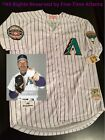 NEW Randy Johnson Arizona Diamondbacks Men's White Retro Flag HOF Patch Jersey
