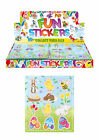 CHILDRENS EASTER STICKER SHEETS PARTY BAG FILLERS FAVOURS BOYS GIRLS STICKERS