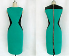 US STOCK Women Bandage Bodycon Evening Party Cocktail Work Office Midi Dress #61