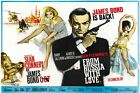 James Bond From Russia With Love Vintage Movie Poster Retro Art 12X18 24X36 $7.71 CAD on eBay
