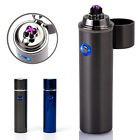 Electric Lighter Rechargeable ARC Pulse USB Charge Cylinder Plasma Flameless