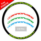 2017 Decals Mountain Bike Rim Cycling Wheel Reflective Stickers for cannondal e