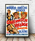 Greenwich Village : Vintage Movie Ad , poster, Wall art, poster, reproduction.