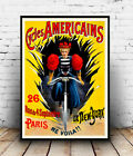 Cycles Americains : Vintage cycle Ad , poster, Wall art, poster, reproduction.