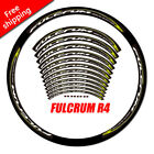 Road bike bicycle Carbon Clincher Wheel set Stickers for Fulcrum r4 race decals