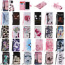 Painted Wallet Leather Skin Flip Case Cover For Samsung J3 A5 2017 S7 S8 S9 Plus