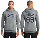 Aaron Judge 99 New York Yankees Men's or Youth Hoodie Sweatshirt Jersey Gray on Ebay