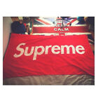 Supreme Beach Hand Towel for Bath Gym Outdoor Sports Soft and Authentic 4 Sizes