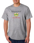 Gildan Short Sleeve T-shirt USA State Seal Vermont Home State