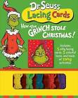 NEW DR SEUSS LACING CARDS - HOW THE GRINCH Cat in the Hat