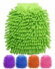 Micro Fibre Auto Car Cleaning Glove Wash Mitt Cloth Kitchen Easy Cleaning Pad