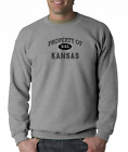 Gildan Long Sleeve T-shirt USA State Property Of Kansas