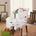 Comfort Removable Elastic Stretch Slipcovers Short Dining Room Chair Seat Cover