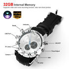 1080P Waterproof 32GB Spy Wrist Watch Camera HD Hidden DVR Camcorder NightVision