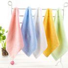 1PC Hot Bamboo Fiber Soft Hand Face Towels Wash Cleaning Cloth Bathroom Kitchen