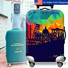 """18""""-30"""" Inch Elastic Travel Luggage Suitcase Cover Dustproof"""