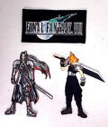 """FINAL FANTASY VII Embroidered 4"""" Patches- Individually or as Set"""