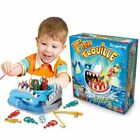 New Facebook Shark Board Game Shark Bite Game Family Party Fun Fish Trouille HW
