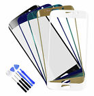 New Front Glass Lens Touch Screen Replace For Samsung GALAXY S6 Edge G9250 +Tool