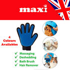 Dog Grooming Glove Pet Dog Cat Massage Stripping Hair Remover Brush UK SELLER