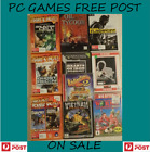 **assorted Pc Games Free Post On Sale Vintage Retro Old And New**