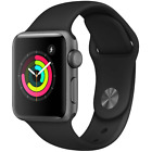 Apple Watch 1st Gen 38mm Aluminum Case - Space Gray Silver Gold Rose Sport Band
