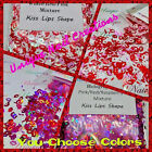 KISS SHAPE Glitter~U CHOOSE~Solvent Resistant~Acrylic Nails~Nail Art~MAKEUP