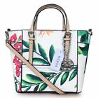 Delaney Floral-Print Mini Tote Handbags With Crossbody Strap 3 Colors Bags NWT