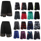 Men Basketball Shorts Gym Sport Casual Pants Exercise Running Fitness Outdoor