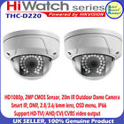 Hikvison 2MP 2.8mm lens HD1080P IP66 20m IR Dome OutdoorCCTV Camera by Hiwatch