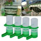 4x Bird Pet Food Drink Dispenser Feeder Bowl Waterer Clip for Aviary Cage Budgie