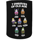 Stubby Holder - 7 Dwarves Old Age - Funny Novelty Christmas Gift Joke Beer Can