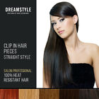 Clip In Hair Extensions Straight Hair Extensions Pieces As Human Hair