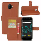Case PU Leather Flip Stand Slots Wallet Cover Pouch For Wiko Mobile Phone 38