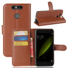 Case PU Leather Flip Stand Slots Wallet Cover Pouch For ZTE Mobile Phones 38