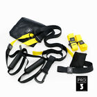 PRO TRX Yoga Fitness Resistance Bands Hanging Belt Suspension Pull Rope Training