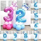 "32"" Giant Foil Number Balloons Helium Large Baloons Happy Birthday Party Gifts"