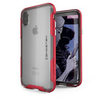 For iPhone X XS Case   Ghostek CLOAK Slim Clear Cover Supports Wireless Charging