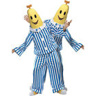 Adults Bananas In Pyjamas Banana Fancy Dress Outfit 33131 ONE COSTUME
