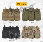 1000D Nylon Bag Adjustable Paintball Tactical Vest Molle Single Double Bag Pouch